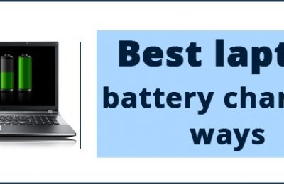 Best laptop battery charging ways
