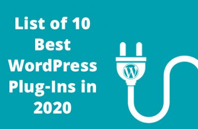 List of 10 Best WordPress Plug-Ins in 2020